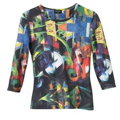 Franz Marc Abstract Tee