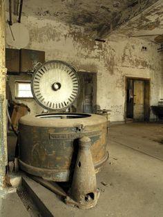 Laundry machines  Ellis Island, NY