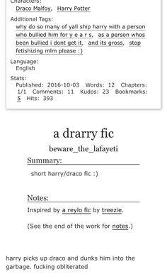 Drarry, Draco Malfoy, Harry Potter, hp                                                                                                                                                                                 More