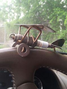 Spark plug air plane:)