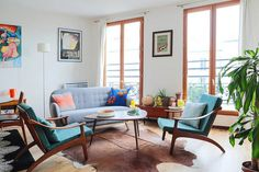 Lots of great airbnb apartment examples in Paris