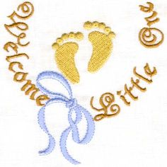 Tiny Feet and Hands-Sonia Showalter Designs, Sonia Showalter,download embroidery patterns,downloadable embroidery,embroider patterns, embroidery downloads,