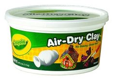 Have you tried Crayola air dry clay yet? Now is the time to stock up- it's on sale for only $3.48 for a 2.5 pound bucket!! This air dry clay makes it super easy to make diffuser necklaces, ornaments, car diffusers, and diffuser magnets. Simply roll out the clay, stamp it if you want to make decorative imprints, use a pencil or an awl to make a hole for necklace/hanger, and then let it dry.