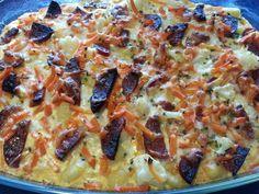 Gnocchi Gemüseauflauf mit Chorizo