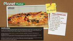 """""""Yabancı Gelinin Mutfağı"""" programında Elena'nın sizler için yaptığı """"Pizza"""" tarifi. Afiyet Olsun :)"""