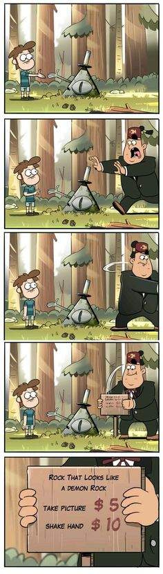 Stan would be proud by Moringmark Gravity Falls Gravity Falls Funny, Gravity Falls Comics, Gravity Falls Art, Gravity Falls Dipper, Gravity Falls Bill Cipher, Disney Channel, Monster Falls, Desenhos Gravity Falls, Gavity Falls