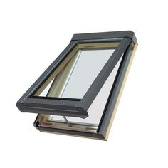 Fakro Venting Laminated Skylight Fits Rough Opening 22 5 In X 26 5 In Actual 22 5 In X 26 75 In 68856 Products Laminated Glass Skylight Aluminium Cl