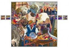 Check out our new Sightlines Exhibition, Art Quilts from Studio Art Quilt Associates through August 5, 2012.
