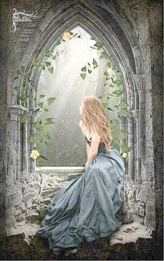 Going through the window of imagination.