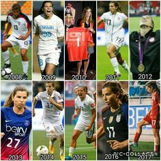Tobin Heath || 2008-2017// happy birthday to the goat, my favorite USWNT player, and the one who reflects the character of Christ the most on the team ❤️
