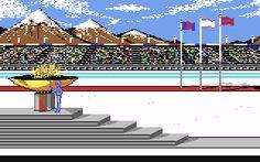Winter Games commodore 64