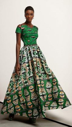 African Prints in Fashion: Think - The new Vlisco collection  Dutch wax print fabric