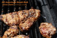 The All American punch to your steak! With the warm weather upon us, a BBQ is surely long overdue! visit www.tasteheritage.com for the full recipe.