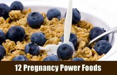 What's the best foods for you to eat while your sporting the bump? Try these top 12 power foods for pregnancy!