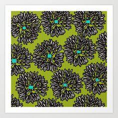 Indigo is Green! Art Print by Simi Design - $14.56