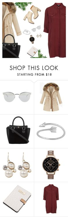 """Your Daily Flatlay no. 11"" by frustrated-designer on Polyvore featuring Fendi, STELLA McCARTNEY, Olivia Burton, Calvin Klein and Topshop"