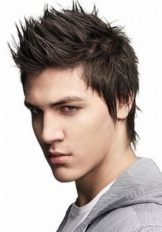 Different Hairstyles for Men with Thin Hair: Spikey Hairstyles For Men With Thin Hair Hipsterwall ~ frauenfrisur.com Hairstyles Inspiration