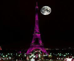 Eiffel Tower in Paris, France Eiffel Tower At Night, Paris Eiffel Tower, Beautiful Sunset, Beautiful Places, Vintage Labels, Cool Wallpaper, Phone Backgrounds, Paris France, France City