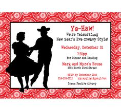3ab8692f193dc7a174d4499ad00c2929 cowboy party invitations party invitation templates country christmas invitation, christmas party invitation,Hoedown Party Invitations