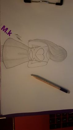 ✌ Art Drawings Sketches Simple, Girl Drawing Sketches, Pencil Sketch Drawing, Sketchbook Drawings, Pencil Art Drawings, Cute Drawings, Disney Drawings, Disney Art, Doodle Art