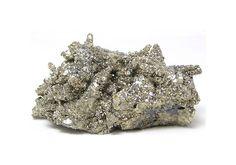 Golden Metallic Pyrite Pseudomorphing Pyrrhotite by FenderMinerals