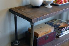 308 Vintage Industrial Shelf