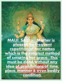 UNIVERSAL DIVINE MOTHER MAI'S THOUSAND NAMES / Mai ( Lalita) Sahasranam / MAI-ISM
