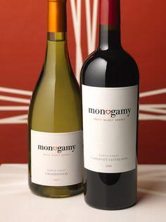 monogamy-promisqous (single grape - grape blend) wines from California