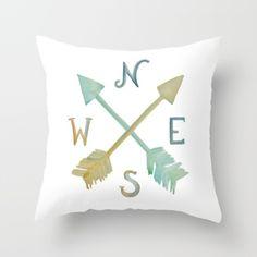 Coordinating fabric and pillows - Jennifer Rizzo
