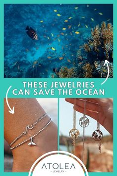 Every purchase of our ocean jewelries help save the ocean! Be a part of this mission. Learn more about our advocacy at atoleajewelry.com