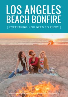 """Everything you need to know about a Dockweiler Beach Bonfire Los Angeles style. Including what to pack, park rules, general information and must-know tips. Sponsored by Zappos.     """"What's close, warm and relaxing?"""" I asked him as I tried to get my friends together"""