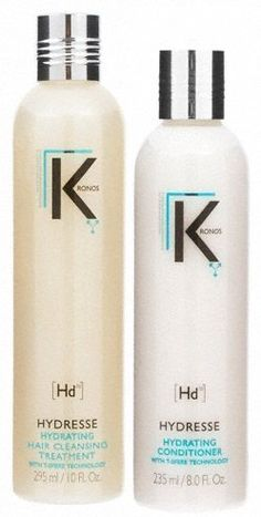 Kronos Hydresse Hydrating Hair Cleansing Treatment Shampoo and Conditioner Duo (2 Pieces) * Want additional info? Click on the image.