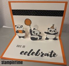 Trendy Baby Cards Stampin Up Paper 18 Ideas Pop Up Cards, Cute Cards, Baby Cards, Kids Cards, Baby Gifts For Dad, Stampin Up, Tarjetas Diy, Panda Party, Stamping Up Cards