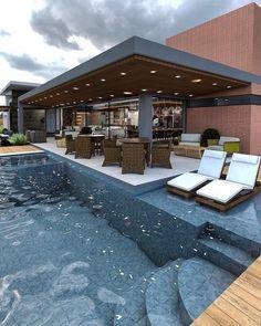 ✔ 42 attractive backyard swimming pool designs ideas for your small backyard 4 architecture-desi. Backyard Pool Designs, Swimming Pools Backyard, Swimming Pool Designs, Pool Landscaping, Lap Pools, Indoor Pools, Small Backyard Pools, Small Backyards, Pool Decks