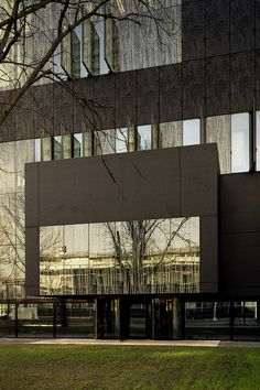 Utrecht University Library by Wiel Arets Architects.