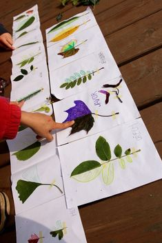 Listová leporela | Učíme venku Kindergarten, Preschool Classroom, Montessori Art, Autumn Crafts, Creative Kids, Painting For Kids, 4 Kids, Art School, Crafts For Kids