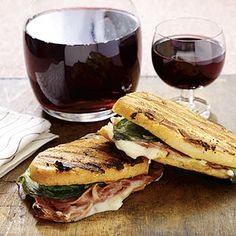 Ham and Cheese Panini recipe. We suggest using Hormel Natural Choice Honey Ham or other deli meats: http://ow.ly/dBPmz
