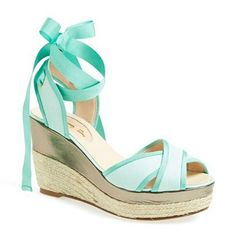 Pretty Aquamarine Wedges ▶suggested by ~Sophistic Flair~