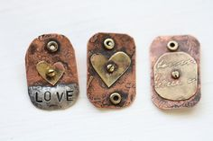 online course Etching metal and learning by TerriBrushDesigns