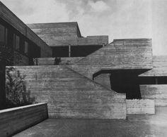College of Economics, St. Gallen, Switzerland, 1964 (Walter M. Förderer)