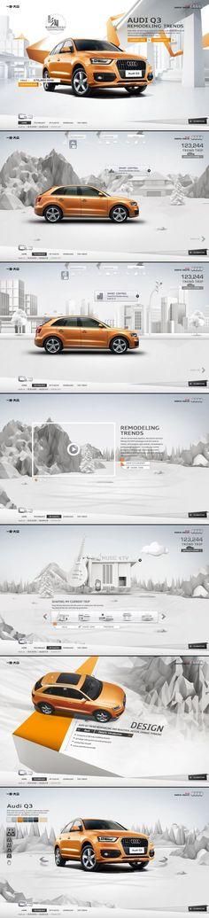Design Sites, Site Design, Ad Design, Graphic Design, Car Advertising, Advertising Design, Car Websites, Ui Design Inspiration, Ads Creative