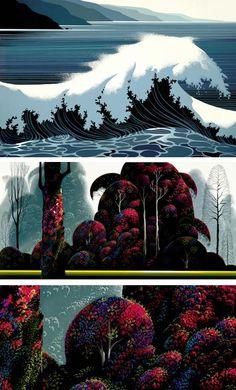 "eyvind earle... visionary behind the aesthetics of disney's ""sleeping beauty"""