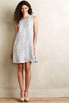 Bubbly Swing Dress #anthropologie