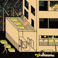 Keep it positive and think big: Ryan Peltier's illustration philosophy