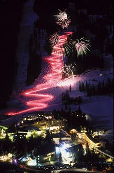Taos ski valley on new years eve, fun!