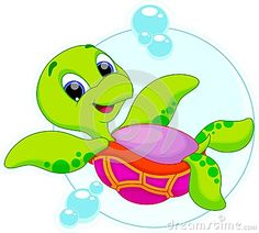 Happy turtle catoon by Muhammad Desta Laksana, via Dreamstime
