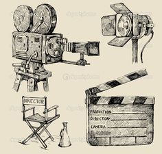 clapper board sketches - Google Search