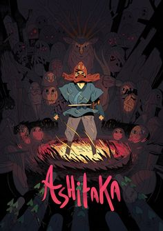 Ashitaka : Ghibli tribute poster on Behance