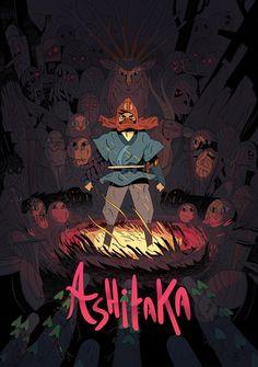 Ashitaka : Ghibli tribute poster on Behance