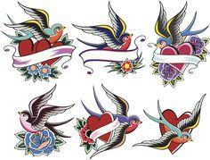 Comstock/Thinkstock  Faz muito tempo que não falávamos de tatuagens old school aqui no site, e hoje não só vamos falar delas como vamos ver alguns desenhos de tatuagens
